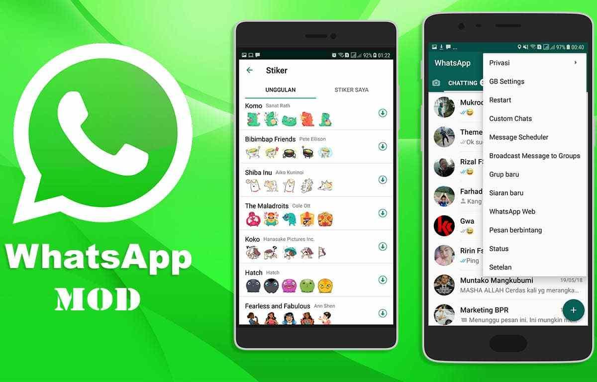 fitur menarik whatsApp MOD