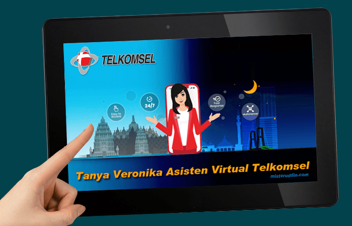 Veronika, asisten virtual Telkomsel