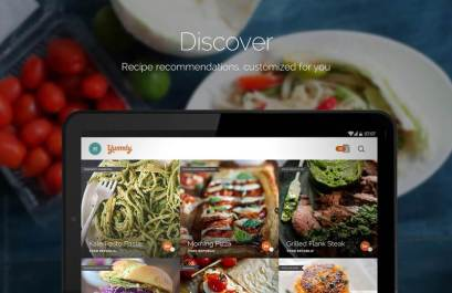Android App Yummly Recipes and Shopping List