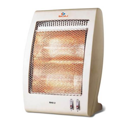 Bajaj RHX-2 Halogen Room Heater Review and Specifications