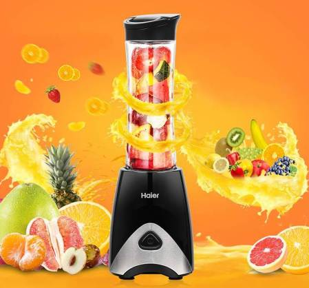 Baby Food Maker Haier Portable Mini Blender with Automatic Safety Function