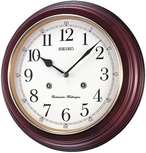 Seiko Wall Clock QXH202ZN
