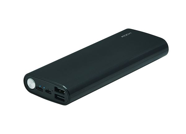 Rock 13000 mAh Power Bank in 800 Rupees