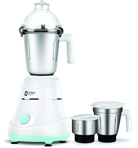 Orient MGKK75B3 750-Watt Mixer Grinder with 3 Jars