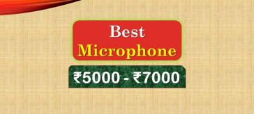 Best Microphone under 7000 Rupees in India Market