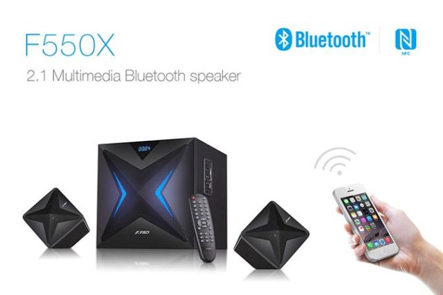 FD F550X Multimedia Bluetooth Speaker