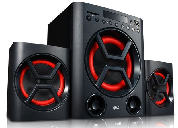 LG LK72 XBoom Multimedia Speaker System