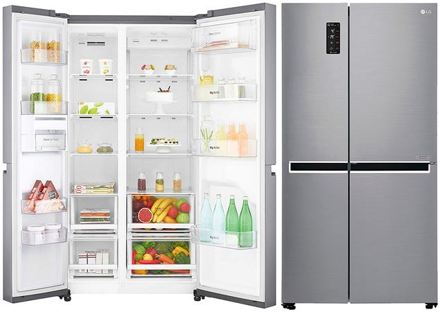LG Side-by-Side Refrigerator B247SLUV