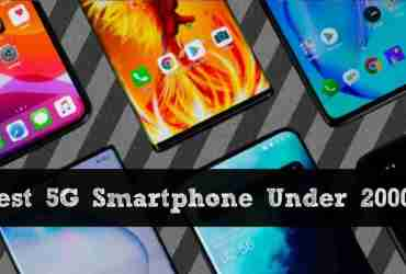 Top 5 Best 5G Smartphone Under 20000 Rs And Specification