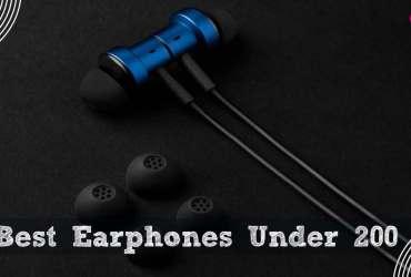 Top 10 Best Earphones Under 200 Rs in India