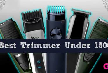 Top 10 Best Trimmer Under 1500 Rs in India