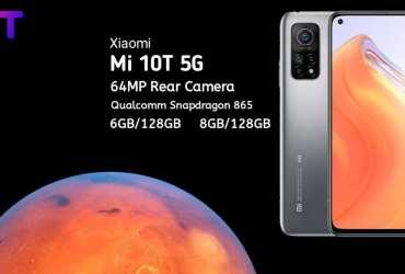 Xiaomi Mi 10T 5G Specifications, Xiaomi Mi 10T 5G price in india