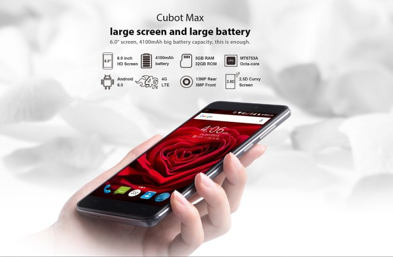 Cubot Max Specifications