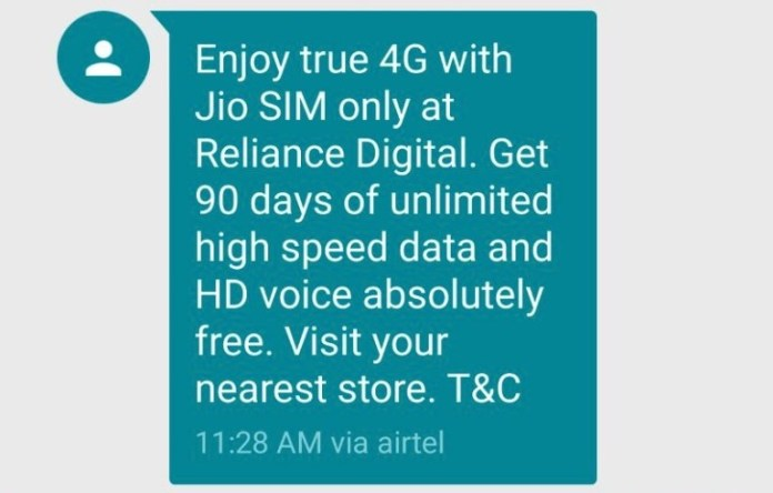 Reliance-Digital-SMS-for-Jio-4G-SIM