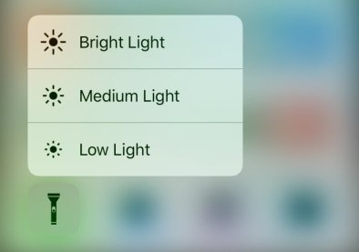how to Change Flashlight Brightness in ios 10