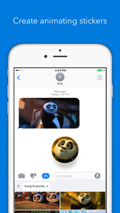 GIF Keyboard for iMessage