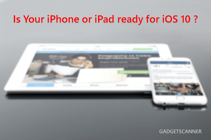 How to get your iPhone or iPad ready for iOS 10