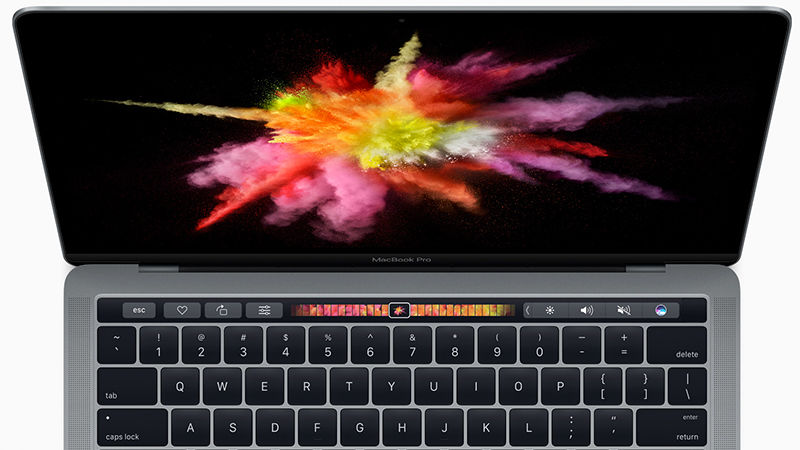 Apple's New MacBook Pro With Touch Bar, Touch ID, and USB-C Launched