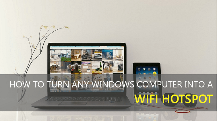 How to Turn Your Computer into a WiFi Hotspot