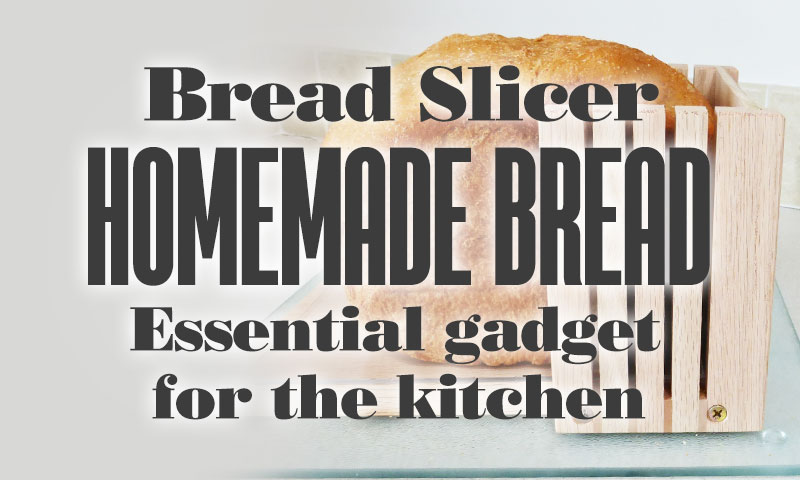 Bread Slicer Homemade Bread Essential Gadget For Kitchen