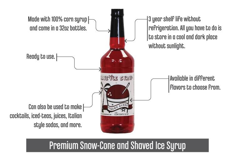 Best Syrup For Snow Cones_PremiumSnowConeShavedIceSyrup