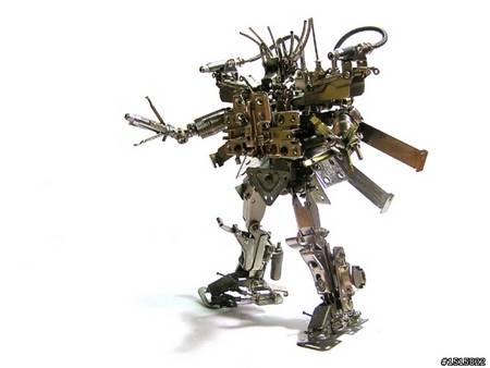 Ultra Cool Handmade Metal Robots All Like Transformers Gadgetsin