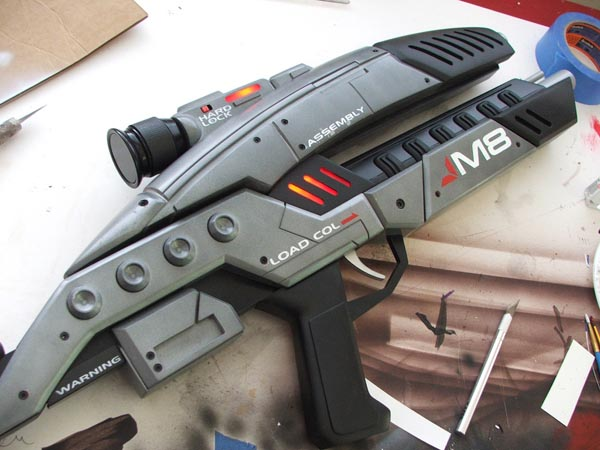Mass Effect 2 M8 Avenger Assault Rifle Replica Gadgetsin