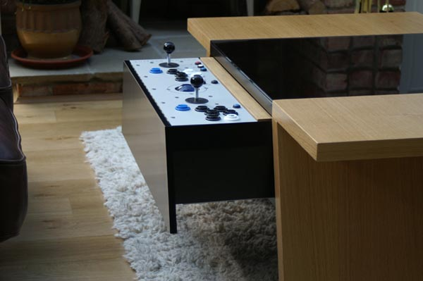 Surface Tension Arcade Game Coffee Table Gadgetsin