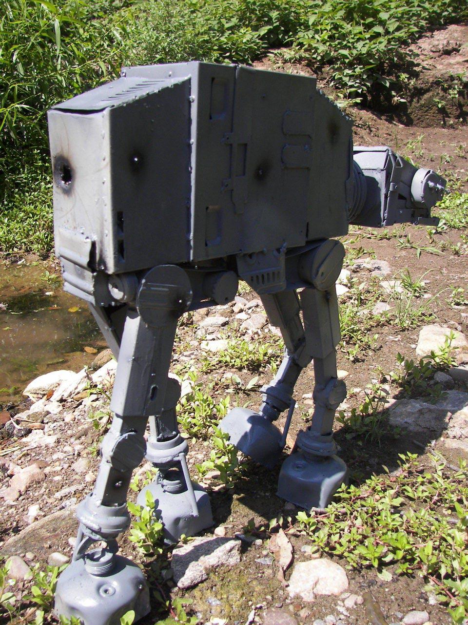 Handmade Star Wars At At Model Gadgetsin