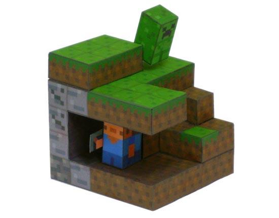 Minecraft Paper Craft Gadgetsin