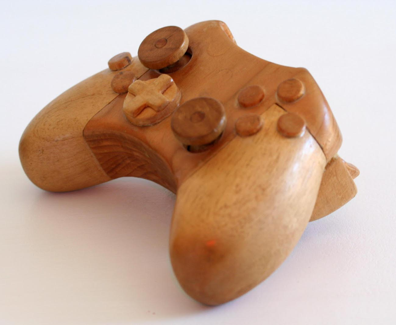 Wooden Xbox Game Console Gadgetsin