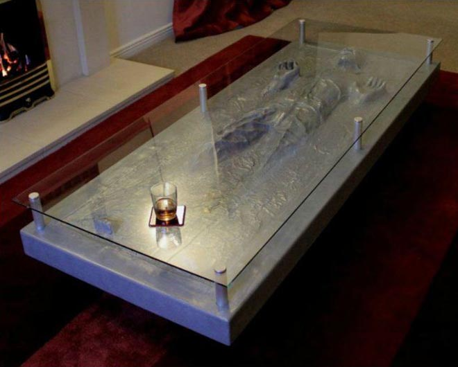 Han Solo In Carbonite Coffee Table Gadgetsin