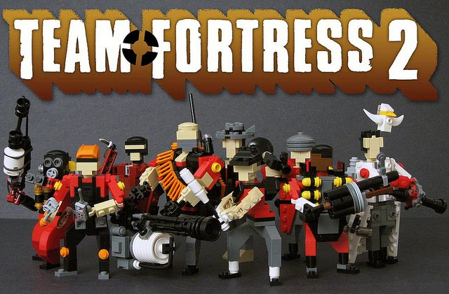 Team Fortress 2 Characters Made With LEGO Bricks Gadgetsin