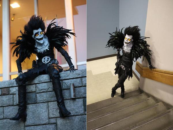 Homemade Death Note Ryuk Costume