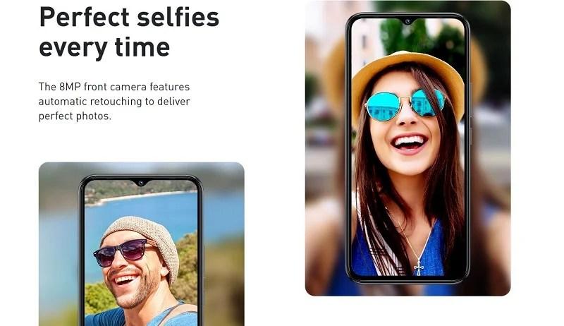 8MP selfie camera