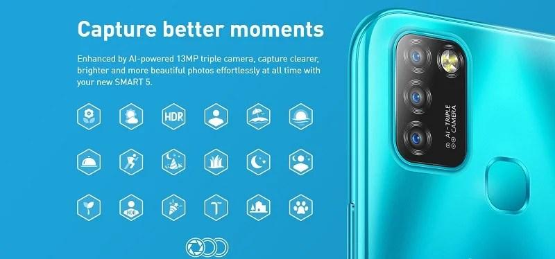 AI powered camera