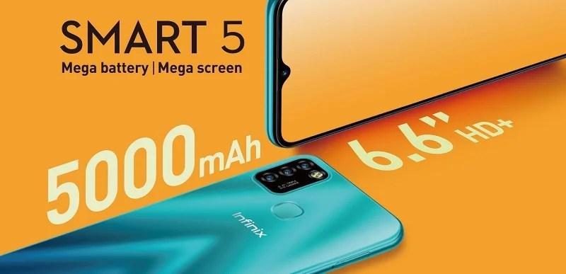 Smart 5 mega battery mega screen