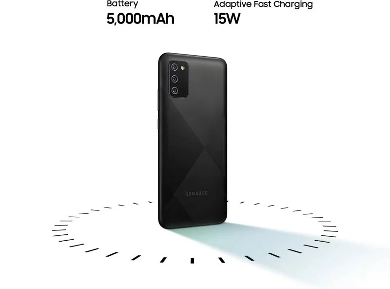 Galaxy A12 15w fast chargeing and 5000mAh battery