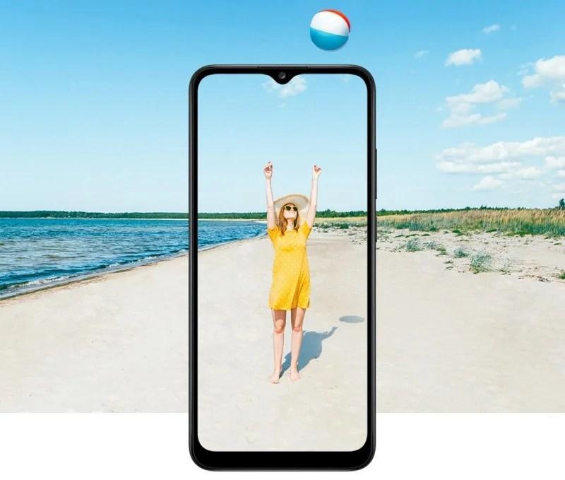 Samsung Galaxy A02s big Display