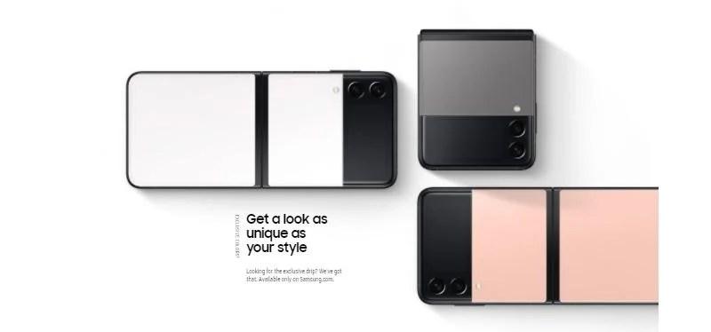 Samsung Galaxy Z Flip 3 Unique Look