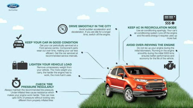 Fuel-saving tips from Ford