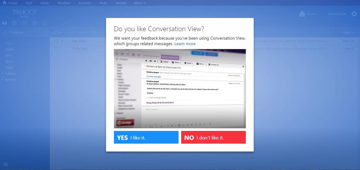 Yahoo Mail: 16 years of connecting people all over the world