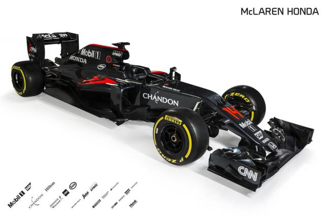 5) 2016 McLaren Honda MP4-31 Front Three Quarter