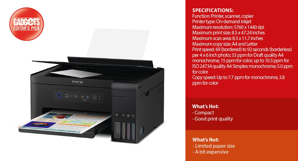 Reviewed: Epson L4150