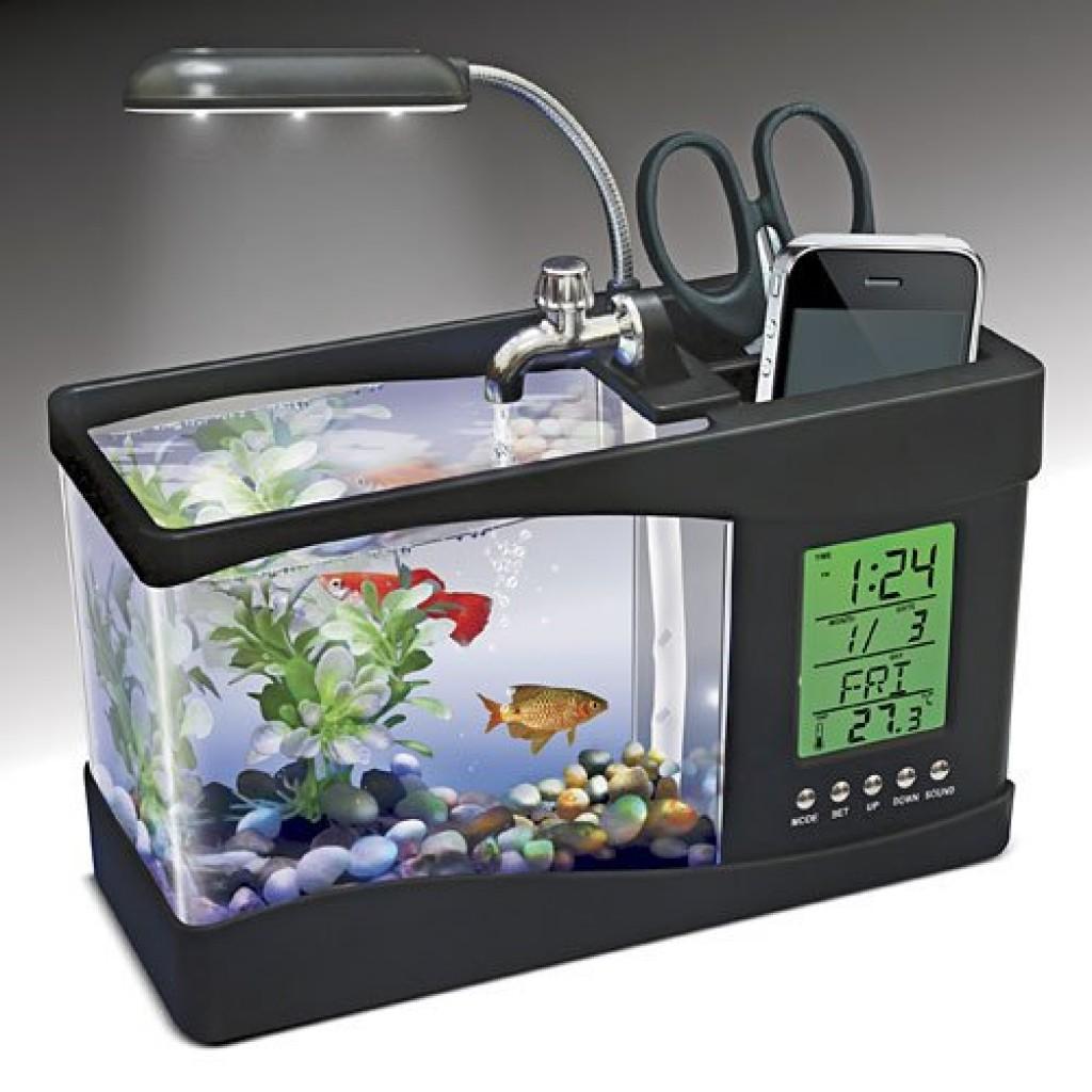 USB Desktop Aquarium Gadgets Matrix