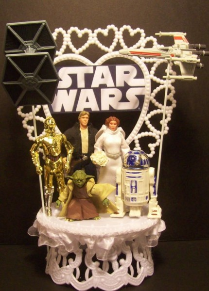 Star Wars Wedding Cake Topper Gadgets Matrix