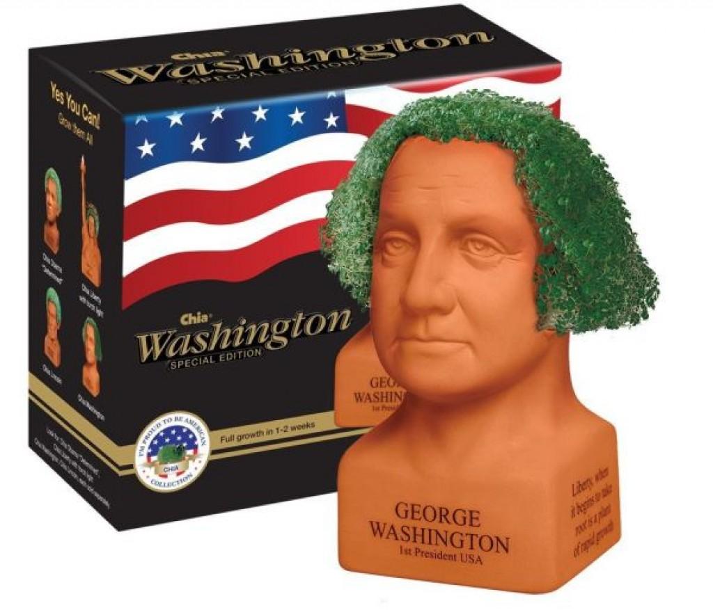 George Washington Handmade Decorative Planter Gadgets Matrix