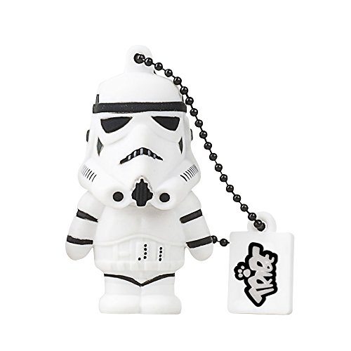Tribe-Star-Wars-FD007502-16-Go-Cl-USB-Flash-Drive-20-Porte-Cls-Stormtrooper-Blanc-0