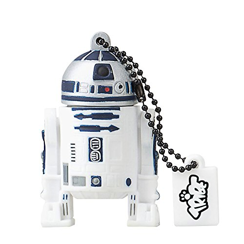 Tribe-Star-Wars-FD007507-16-Go-Cl-USB-Flash-Drive-20-Porte-Cls-R2D2-Blanc-0