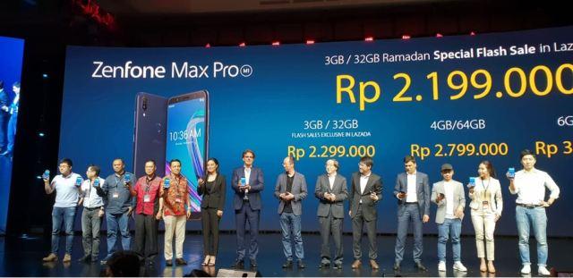 Hasil gambar untuk asus zenfone max pro m1 harga